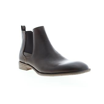 Robert Wayne Oklahoma  Mens Brown Leather Chelsea Boots Shoes