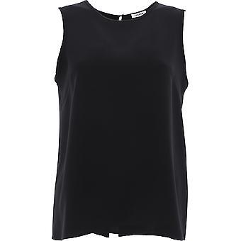 P.a.r.o.s.h. D310257x013 Women's Black Polyester Top