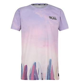 Hot Tuna Mens Voorstad T Shirt Crew Neck T-shirt T-shirt Top bedrukte korte mouw shirt
