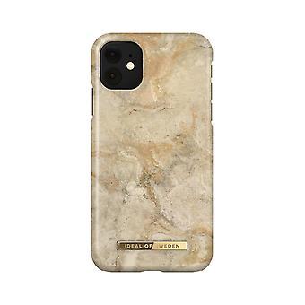 iDeal Of Sweden iPhone 11 / XR shell - Sandstorm Marble
