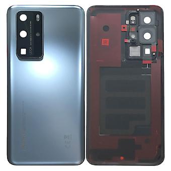 Huawei Battery Cap Battery Cover Battery Cover Silver / Silver Frost for P40 Pro 02353MNA Repair New