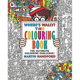 Wheres Wally de Colouring Book door Martin Handford