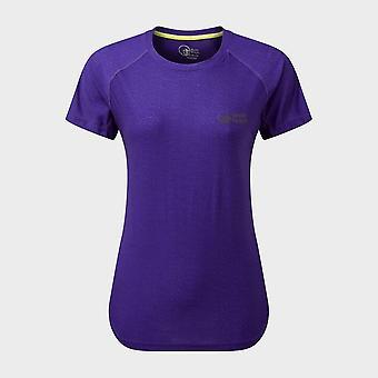 New North Ridge Women's Synergy Short Sleeve Top Purple