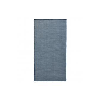 Rug SISAL FORT 36201035 blauw uniform een-kleur gladde vlakte