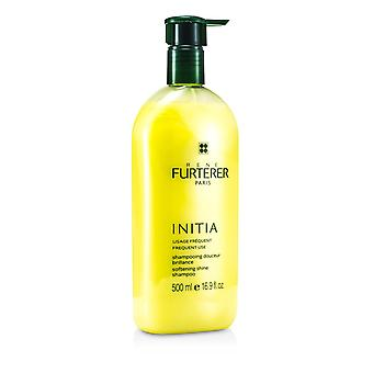 Initia softening shine shampoo (frequent use, all hair types) 151657 500ml/16.9oz
