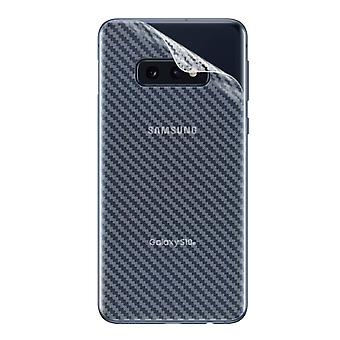Back Film Protector Samsung Galaxy S10e Latex Carbon Effect Anti-scratch- iMak