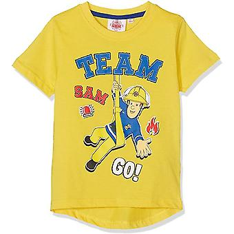 Fireman sam boys t-shirt 'rescue' fms9371
