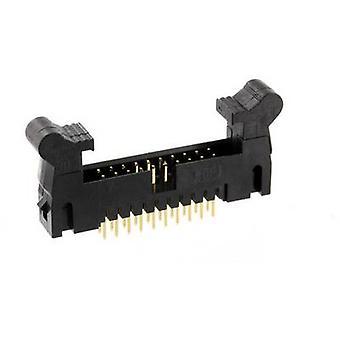 econ connect EDH2S10G2 Pin strip + kort lås Kontaktavstand: 2 mm Totalt antall pinner: 10 Nei. av rader: 2 1 stk(er) skuff