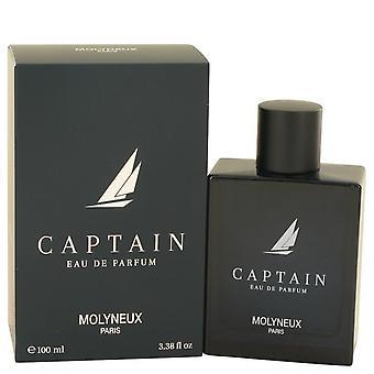 Captain Eau De Parfum Spray By Molyneux 3.4 oz Eau De Parfum Spray