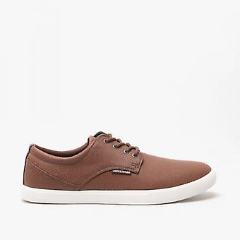 Jack & Jones Nimbus Mens Casual Trainers Cognac