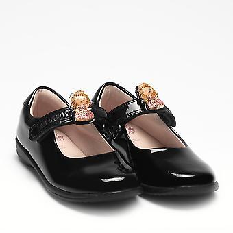 Lelli Kelly Prinny LK8215 Dolly School Shoes Black Patent