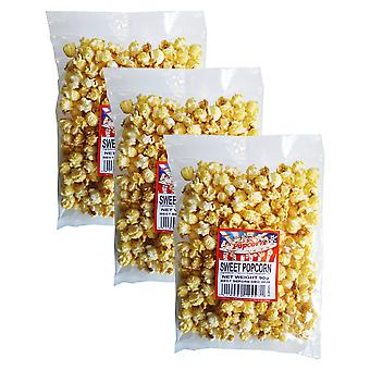 3 x 90g pachet Sweet Popcorn Snack Picnic Camping Film Night Food