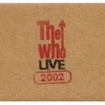 Who - Live: Irvine Ca 9/15/02 [CD] USA import