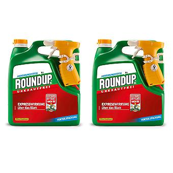 Sparset: 2 x ROUNDUP® AC, 3 litres