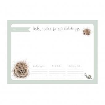 Wrendale Deisgns Hedgehog A4 Desk Planner
