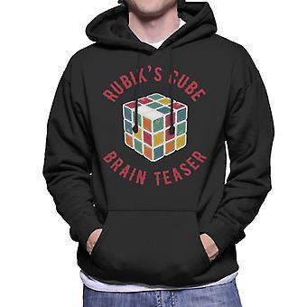 Rubik's Cube Brain Teaser Men's Hooded Sweatshirt