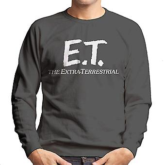 E.T. Retro Text Logo Men's Sweatshirt