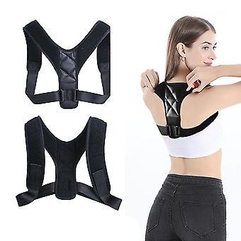 Braces Support Belt - Adjustable Back Posture Corrector Clavicle Spine Back Shoulder Belt