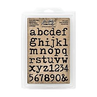 Advantus Tim Holtz Cling Foam Stamps Typ Dolny (37szt.) (TH93579)