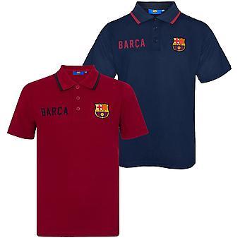 FC Barcelona Oficial De Futebol Presente Meninos Crista Polo Camisa Azul