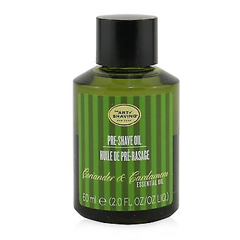 Pre shave oil coriander & cardamom essential oil 249192 60ml/2oz