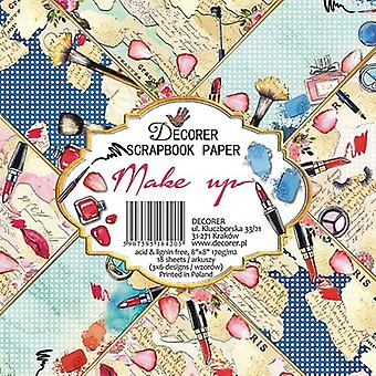 Decorer Make Up 8x8 Inch Paper Pack