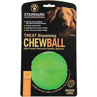 Starmark Treat Dispensing Chew Ball - Medium