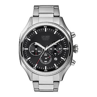 s.Oliver SO-3861-MC Men's Watch Chronograph