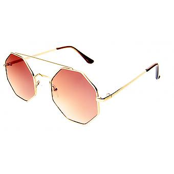 Sunglasses Unisex Cat.3 Brown Lens (19-095)
