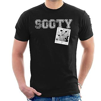 Sooty Retro College Sports Style Men''s T-Shirt