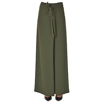 Nenah Ezgl572001 Women's Green Polyester Pants