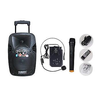 Telecontrol-move 30w High-power Portable-reproduktor Bluetooth-reproduktor Podpora-wirelss mikrofon Venkovní USB Mp3-přehrávač
