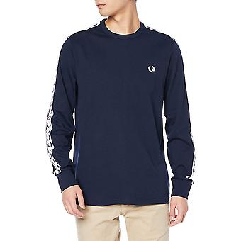 Fred Perry Men's Taped Long Sleeve T-Shirt