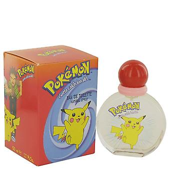 Pokemon Eau De Toilette Spray By Air Val International 1.7 oz Eau De Toilette Spray