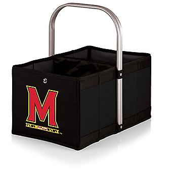 Urban Basket - Black (University Of Maryland Terrapins/Terps) Digital Print