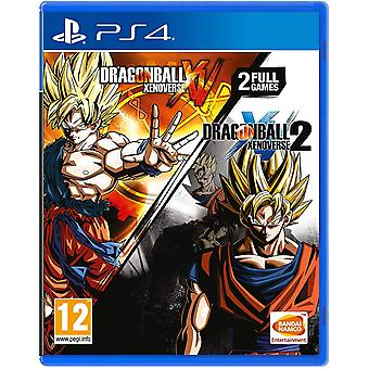 Dragon Ball Xenoverse a Dragon Ball Xenoverse 2 Double Pack PS4 hry