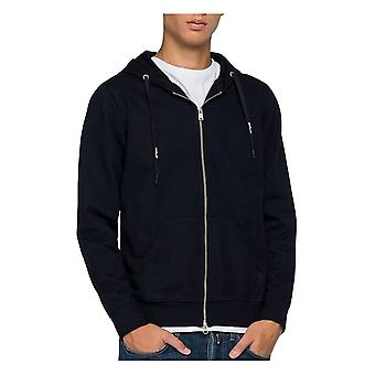 Replay Jeans Replay Sweatshirt With Hoodie Navy