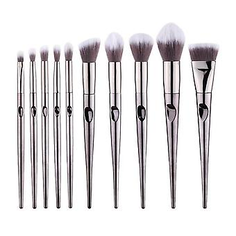 Eye Makeup Brushes Set For Eye Shadow, Eyebrow Sculpting - Power Brushes,