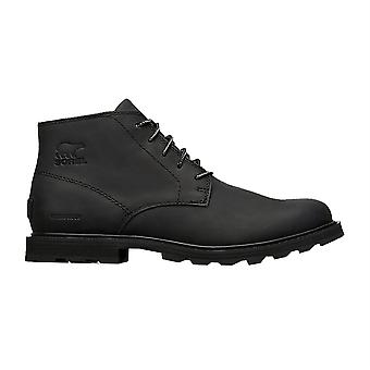 Sorel Madson Chukka Waterproof Boots - Black / Black