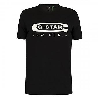 G-Star Raw Graphic 4 Logo T-Shirt Black D15104