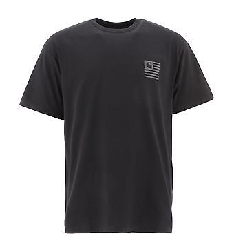 Carhartt I028434038990 Men's Black Cotton T-shirt
