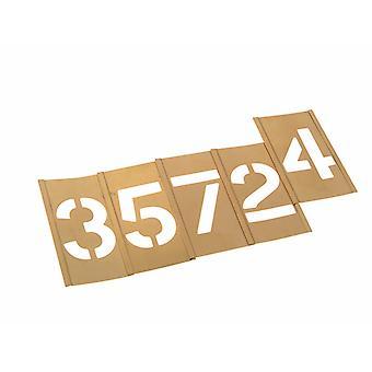 Stencils Set of Brass Interlocking Stencils - Figures 1in STNF1LB