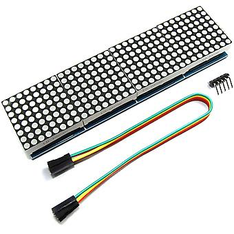 MAX7219 8x32 Red Serial Dot Matrix Display Module