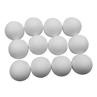"36mm 1.42"" Purewhite Roughened Surface Foosball Table Ball"