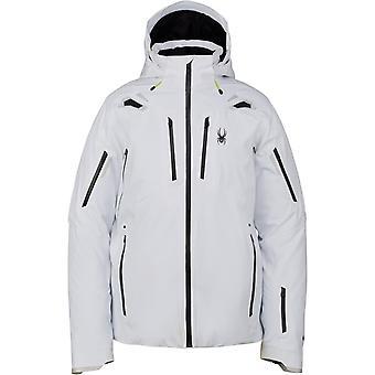 Spyder PINNACLE Men's Gore-Tex Primaloft Ski Jacket White