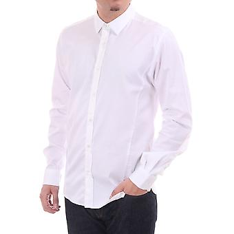 Ted Baker Mens Mens Ls Tapered effen Shirt