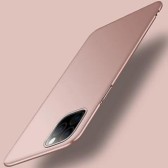 USLION iPhone 12 Pro Max Ultra Thin Case - Hard Matte Case Cover Pink
