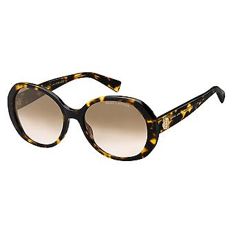 Marc Jacobs Marc 377/S 086/M2 Dark Havana/Brown Gradient Sunglasses