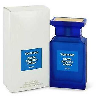 Tom Ford Costa Azzurra Acqua by Tom Ford Eau de Toilette Spray (Unisex) 3,4 oz (naiset) V728-546089