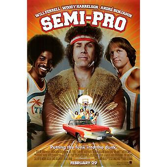 Affiche du film semi-pro (11 x 17)